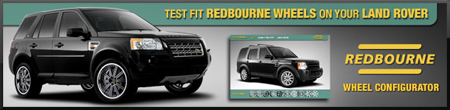 Land Rover Wheel Configurator